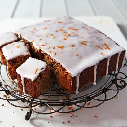 Gingerbread with Orange Drizzle