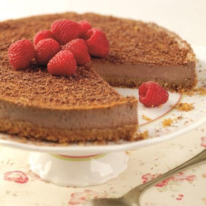 Reduced Sugar Chocolate Cheesecake